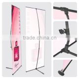 2013 Hot sale Advertising fibre-glass pole flexible L Banner stand, outdoor water tank L banner display