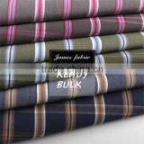 James High Quality 100% Cotton Yarn Dyed Carbon Peaching Colorful Check/Plaid/Stripe Autumn & Winter Shirting Fabric series two