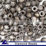 Marble cutting rope saw beads