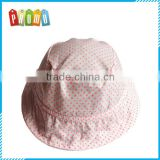 Promotional Wholesale Cotton dwill printed bucket hats