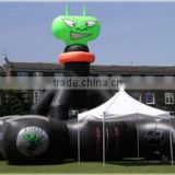 extra-terrestrial (ET) inflatable laser tag arena