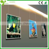 New style A2 aluminium photo frame led lighting box