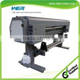 Cheap bus sticker 1.8m WER ES1801, inkjet plotter eco solvent printer indoor and out door printing machine