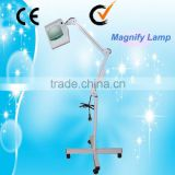 Vertical Au-662A Salon Use Floor Stand 15X Cool Light Led Magnifying Lamp Professional