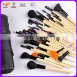 40-piece Cosmetic/Makeup Brush Set with animal and Synthetic Hair, Various Handle Colors are Available