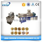 Jinan city making chocolate filled core filling puffed snack food chips machine manufacturers