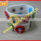 2016 new arrival silicone id bracelet for hospital
