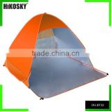 Lightweight portable anti UV beach tent set up in seconds
