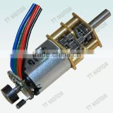 n20 motor and 12mm dc gear motor with 12mm encoder