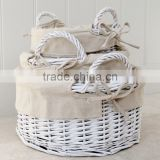 white wicker Basket Product Type Baby Shower Gifts used Small Wicker shower basket