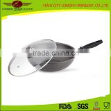 Chinese Kitchen Cooking Tools Aluminum Tensile Wok Pan