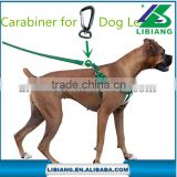 Adjustable and Heavy Duty No-Pull Leash & Harness-Perfect Lightweight Training & Walking Collar Carabiner for Dog Leash