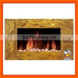 Modern Wall Mounted Electric Fireplace With CE Certificate