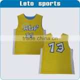 basketball jersey yellow color