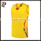 Polyester Breathable Custom Mesh Top Men Training Team Reversible Sport Sublimation Basketball Jersey