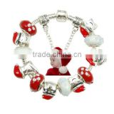 Fashion Chunky Bead Accessories Charm Women Christmas Bracelet