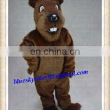 Custom Forest Animal Theme Costume Gopher Mascot Costume Suit Halloween Prop Adult Cartoon Mascotte Fancy Dress Outfit