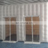 New Hot sale Square inflatable tent with 2doors for events