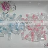 plastic decorative milk bottle for baby shower favor