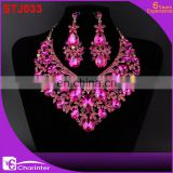 african wedding costume jewelry crystal set STJ033