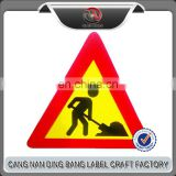 Warning Triangle Traffic Signs Corrosion-Resistance Road Sign