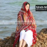2017 new printed scarf summer scarf and spring cotton scarf