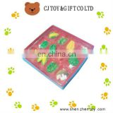 Lifelike Colourful Plastic Simulation Food with a box