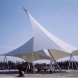 PTFE Coat Fabric Membrane High Tension PTFE Architecture Membrane