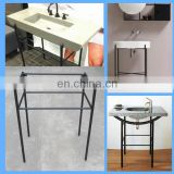 transitional bathroom washstand, vanity table frame