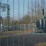 Heavy welded wire mesh 358 fence design industrial units fencing
