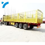 3/4 axles 40ft side wall semi fence cargo trailer fence semi-trailer