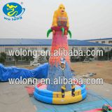 CE Approved outdoor inflatable climbing walls inflatable sport wall