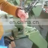 ZKM-6 Automatic aluminum tubular riveting machine, snap button riveting machine for ice skate, brake shoe riveting machine