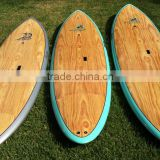 Wood veneer stand up paddle board/surfboard type wooden surfboard