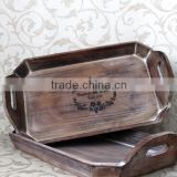 2016 china supplier fashionable egg tray serving tray wooden tray