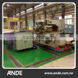High efficiency automatic longitudinal rolling seam welding machine for train fabrication