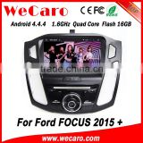 Wecaro WC-FF8088 Android 4.4.4 car dvd player 2 din for ford focus navigation system 2015 Steering Wheel Control