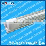 T8 6FT V-Shaped Led Tube Lights For Cooler Door 1.8m Integration Led Tubes Transparent Cover Warm Natural Cool White
