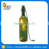 choose quality LED wine green dark glass bottle
