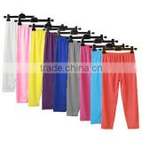 wholesale fashion candy colors leotards of children,lastest solid kids ballet leotard,plain colour girls dancing pants