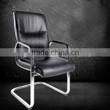 modern office furniture middle back cheap black executive leather design chair (SZ-OC138)