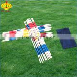 wooden mikado ,pick up stick for kids ,garden game set with FSC