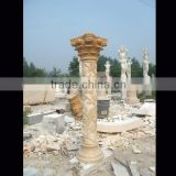 Pillar stone decoration