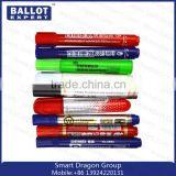 Multi-color White Board Indelible Ink Marker Pen OEM