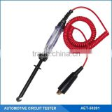 Automotive 12V Circuit Tester Pen With Dual Color LED Indicators, Hook Heavy Duty Logic Probe,2 in 1