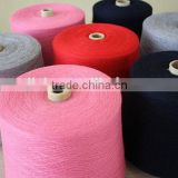 100% Worsted Cashmere Cone Yarn For Kintting Machine
