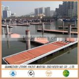 Marina Dock Aluminum Or Steel Floating Wharf For Sale
