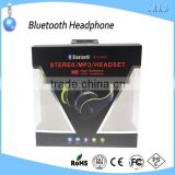 New super bass wireless bluetooth headphone sd card