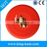 Hot Sale Oem Outdoor Promotional Silicon Wholesale Plastic Frisbee