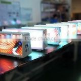 3G wireless double side Billboard taxi roof advertising led sign